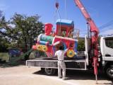 遊具の移設工事
