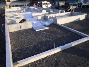 基礎工事 土間
