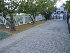 某保育園通路整備