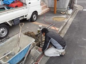 バリカー設置工事
